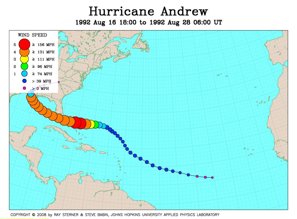 Worksheet. Other Hurricane Track Maps